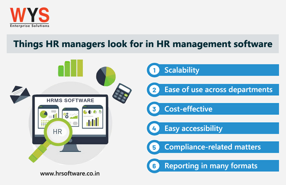What do HR managers look for in HR management software