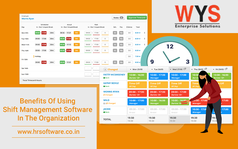 What Benefits Do Organization Have Using Shift Management Software