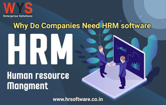 Why Do Companies Need HRM software